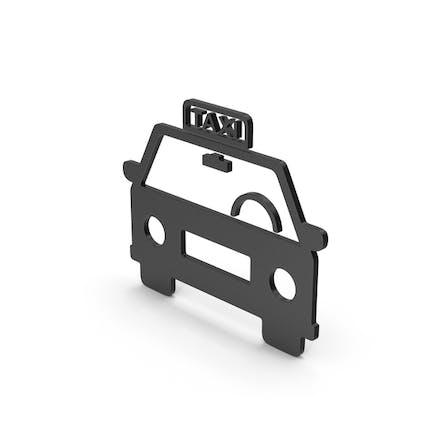 Symbol Taxi Black