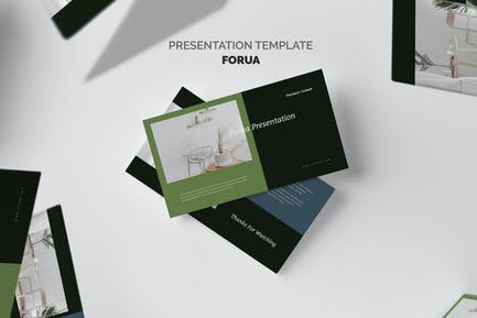 Forua : Home Decor Startup Pitch Keynote