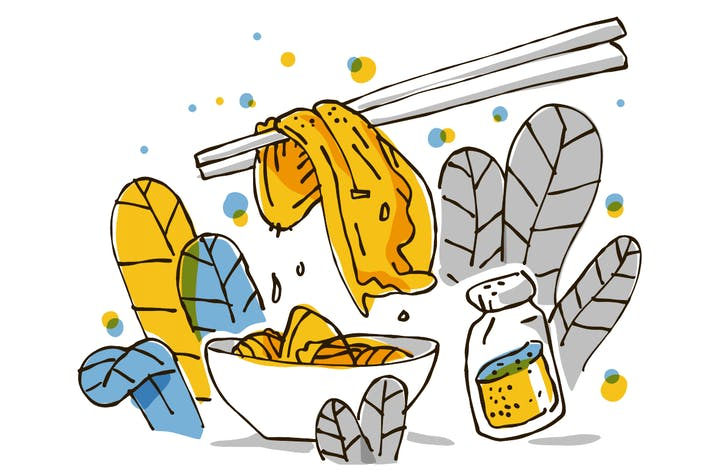 Thumbnail for Kimchi famous healthy Korean food