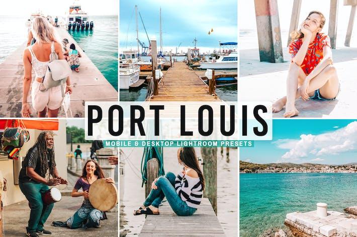 Thumbnail for Port Louis Mobile & Desktop Lightroom Presets