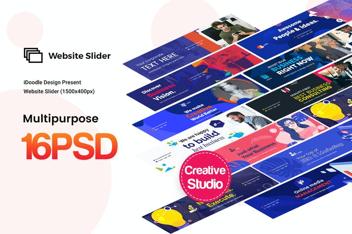 Thumbnail for Website Sliders Multipurpose, Business Ad