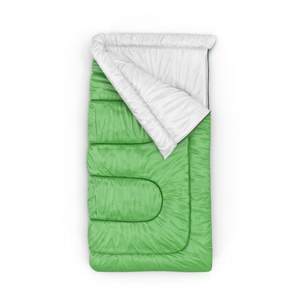 Green Sleeping Bag