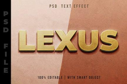 Goldtext-Effekt editierbar
