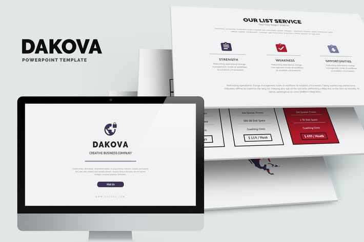 Thumbnail for Dakova : Effective Business Profile Powerpoint
