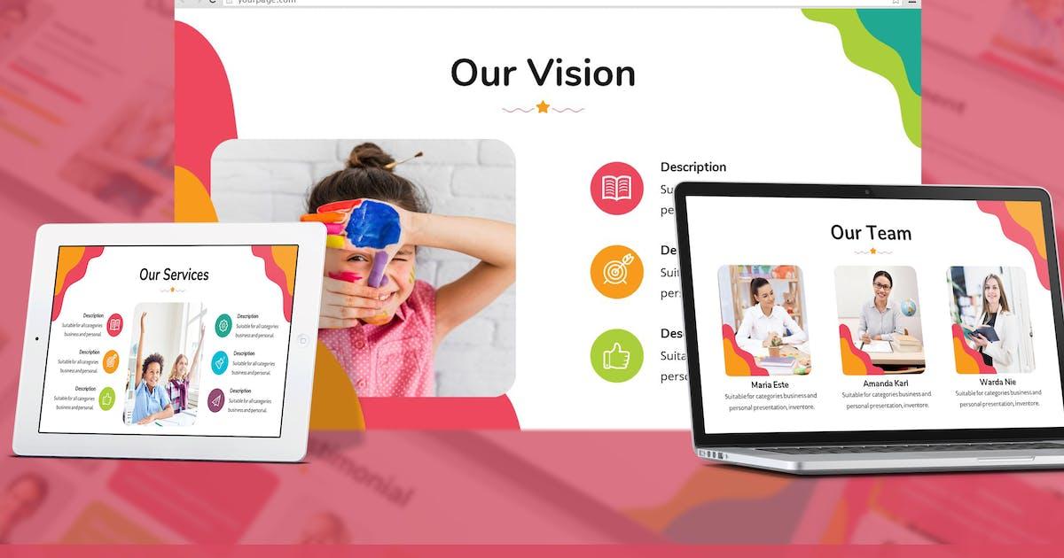 Download Kids Zone - Playful Google Slides Template by SlideFactory