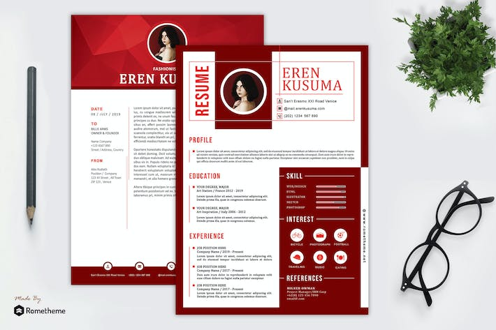 Thumbnail for Resume - Eren Kusuma