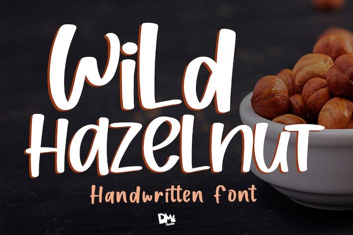 Thumbnail for Wild Hazelnut - Police manuscrite