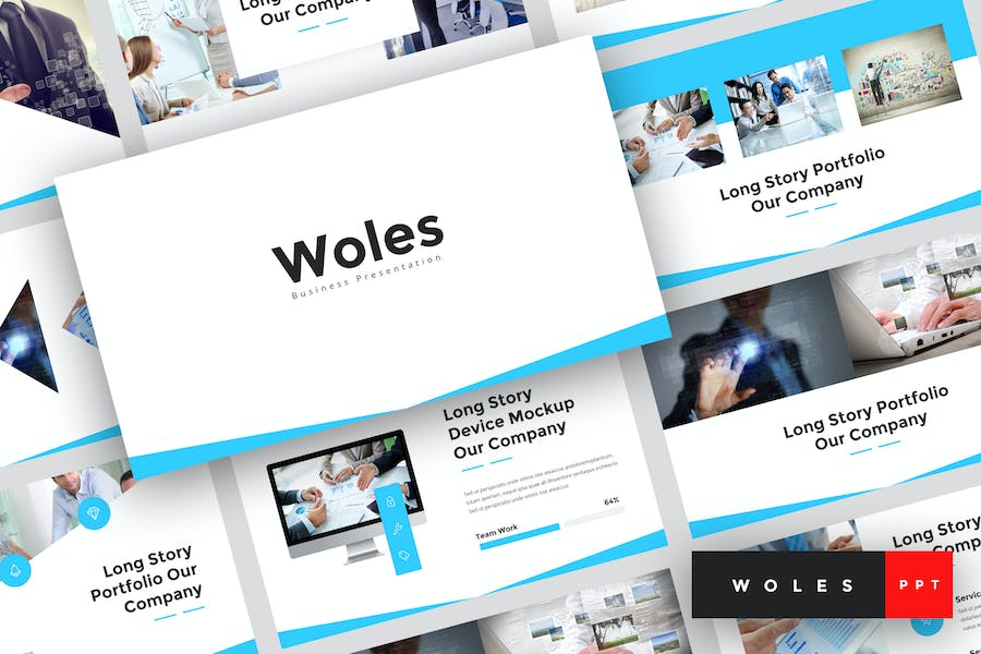 Woles - Business PowerPoint Template