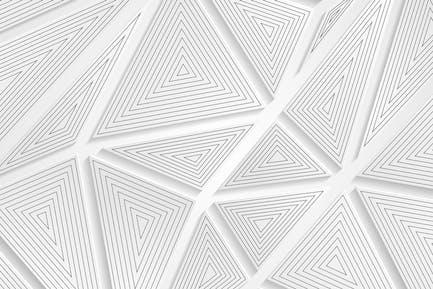 Tech geometrische graue Dreiecke