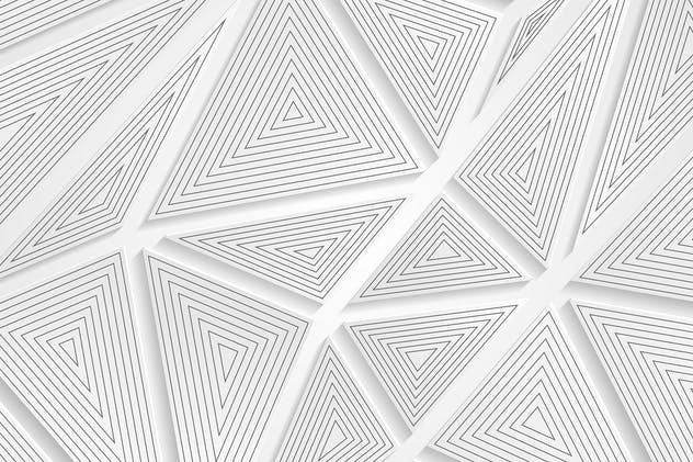 Tech geometric grey triangles