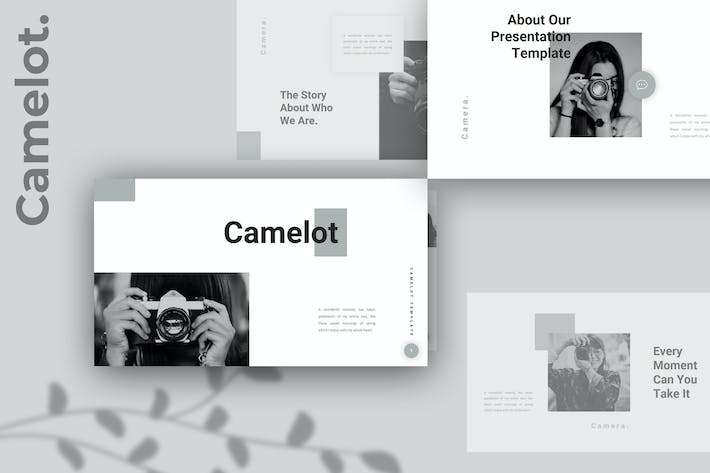 Camelot – Camera Photography Keynote Template