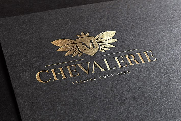 Cover Image For Chevalerie Logo Template