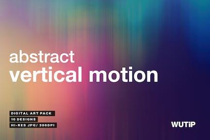 Abstrakte vertikale BewegHintergründe