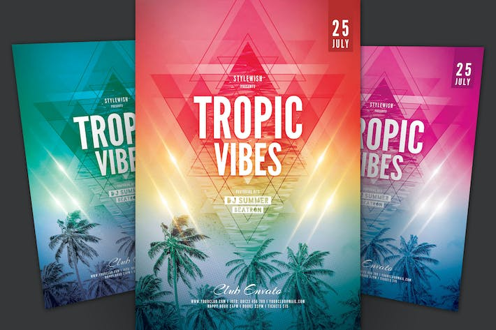 Thumbnail for Tropic Vibes Flyer