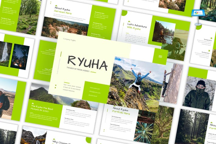 Thumbnail for Ryuha - Travel Agency Keynote Template