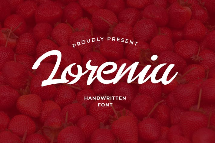 Lorenia Handwritting Font