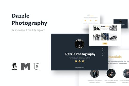 Dazzle - Photography Email Newsletter Template