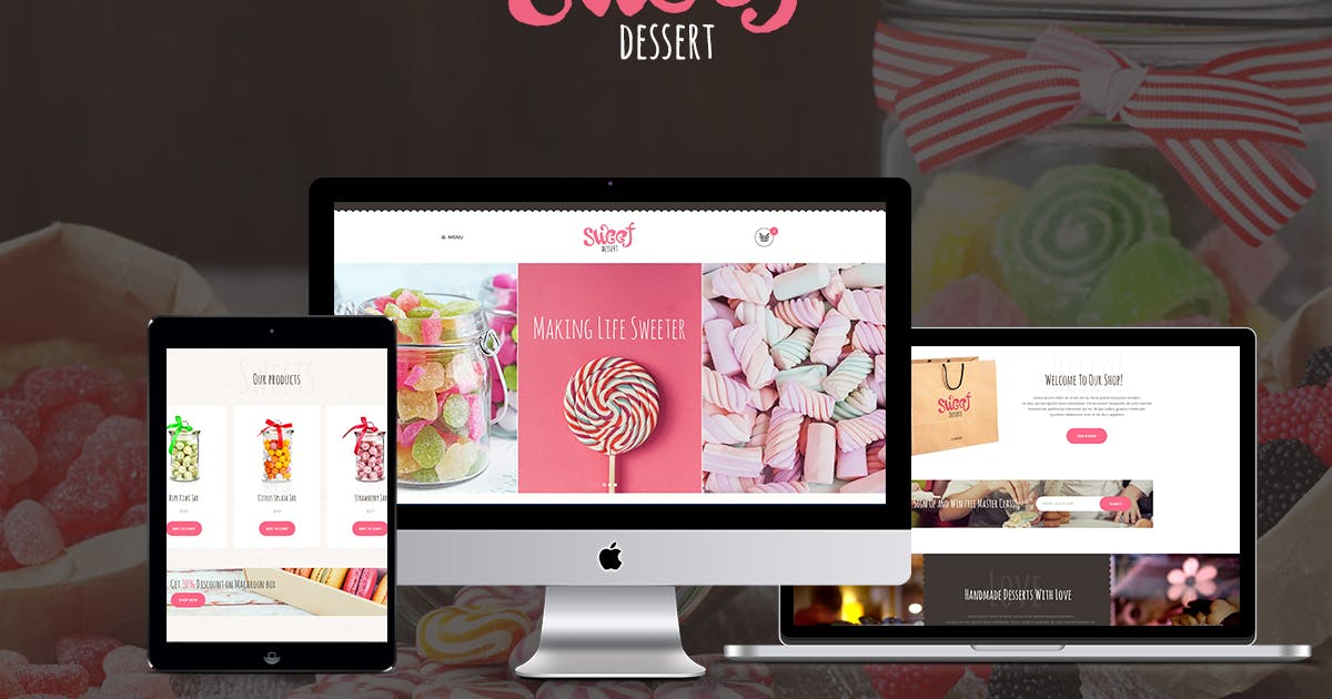 Download Sweet Dessert by axiomthemes