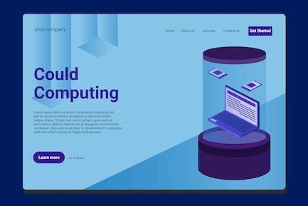 Data Computing - Landing Page