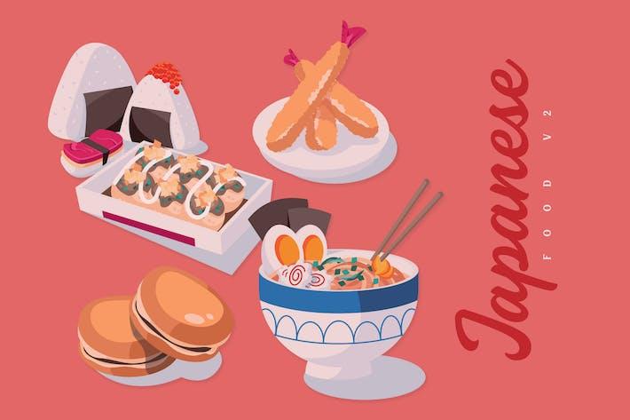 Thumbnail for Japanisches Essen V2 - Illustrationen