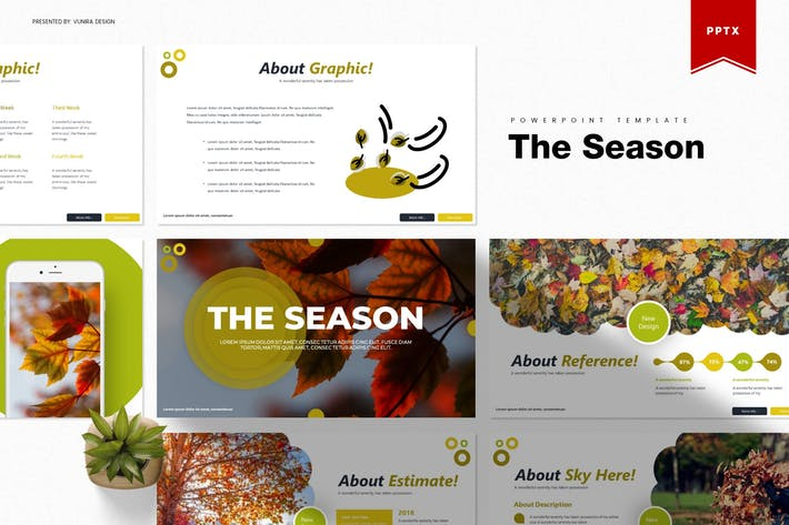 Thumbnail for The Season | Powerpoint Template