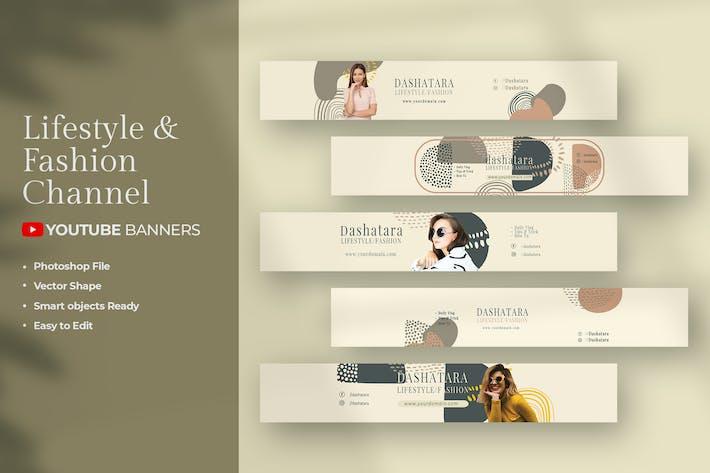 Mode de vie et mode - Bannières Youtube Chanel