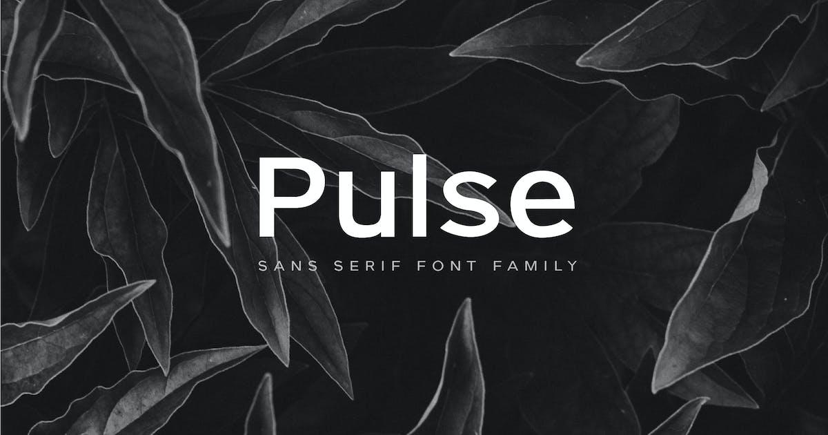 Download Pulse - A Modern Sans-Serif Typeface by casscappello