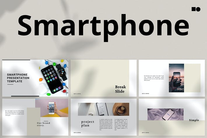 Thumbnail for Smartphone - Powerpoint
