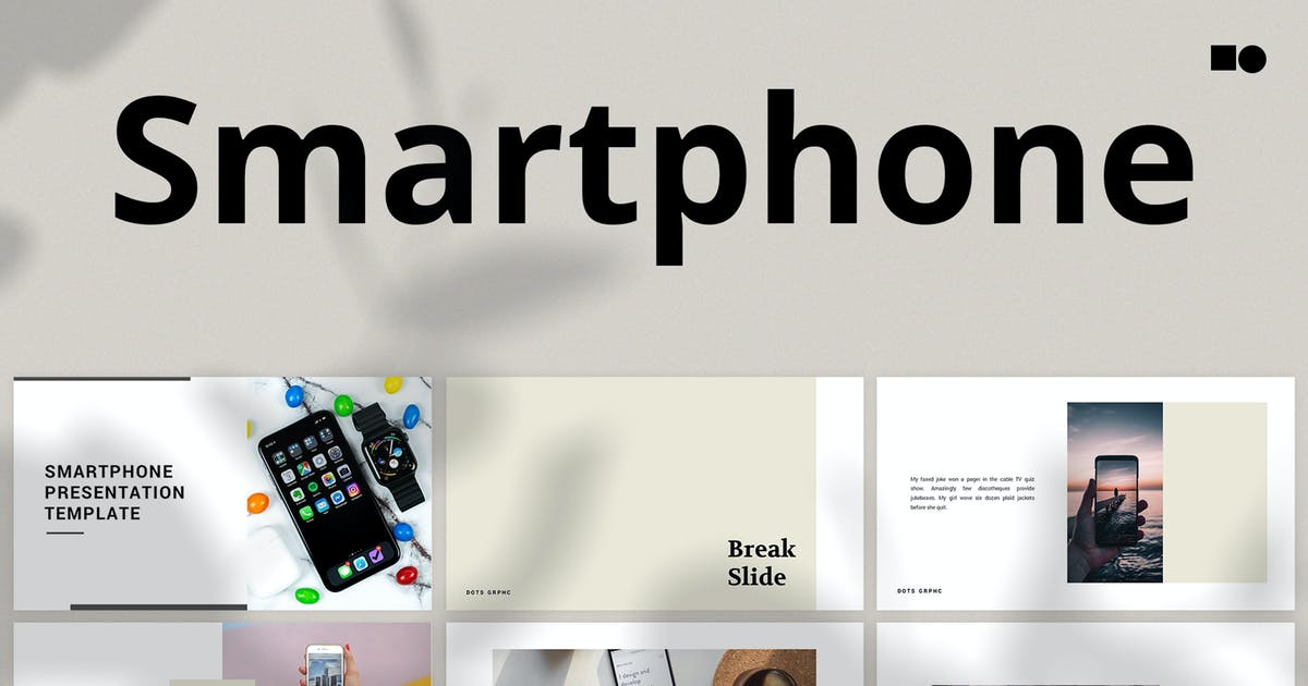 Download Smartphone - Powerpoint by graptailtype
