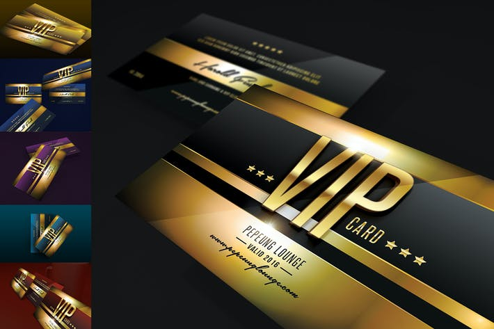 Thumbnail for Multipurpose Colorfull Vip Card