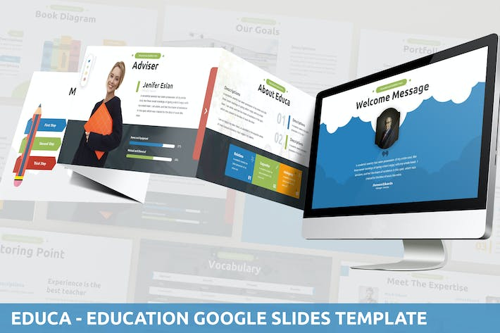 Thumbnail for Educa - Education Google Slides Template