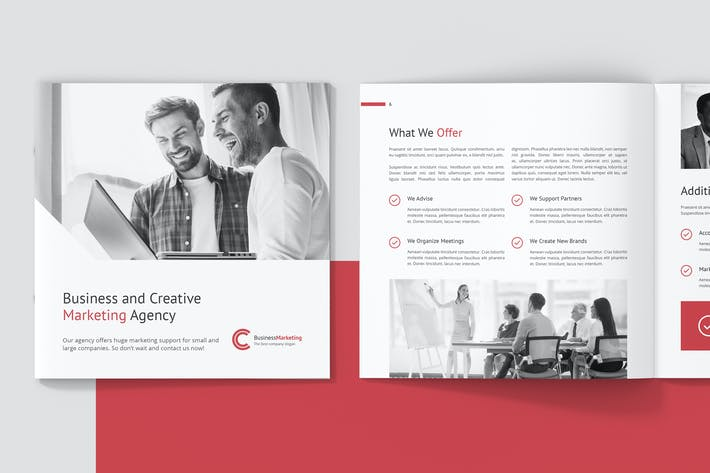 Cover Image For Business Marketing – Company Profile Square