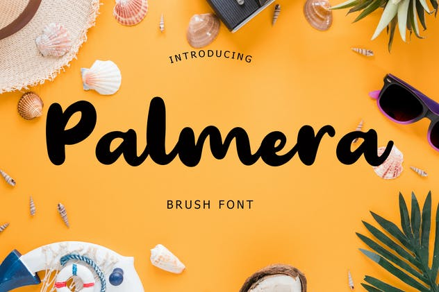 Palmera Brush Font - product preview 6