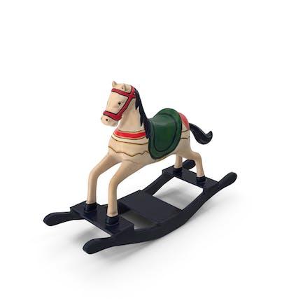 Retro Toy Rocking Horse