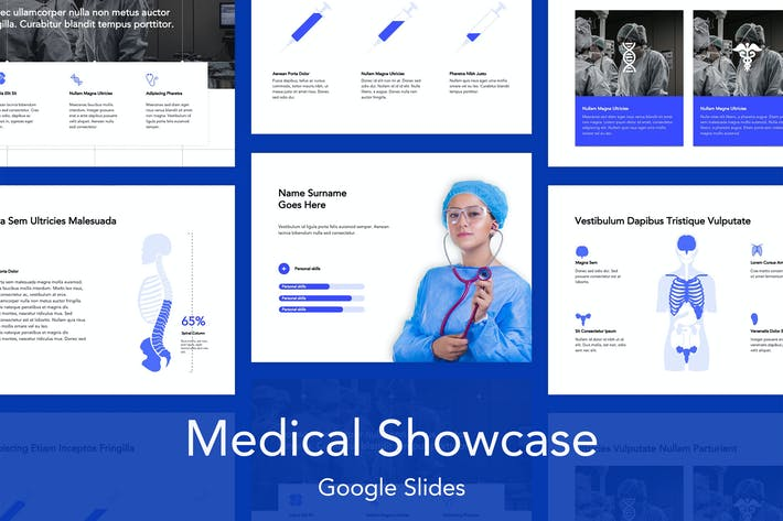 Thumbnail for Medical Showcase Google Slides