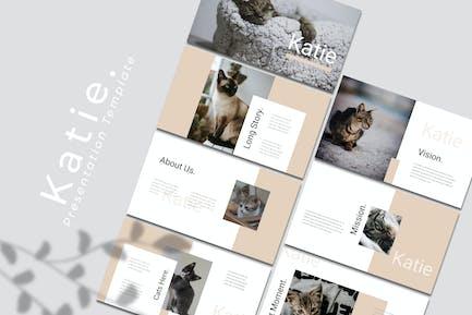Katie – Pet Keynote Template