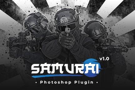Samurai - Photoshop Plugin