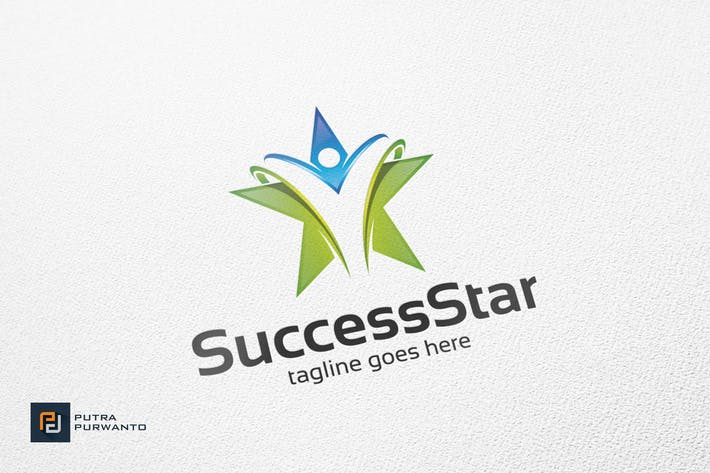 Thumbnail for Success Star/Karriere - Logovorlage