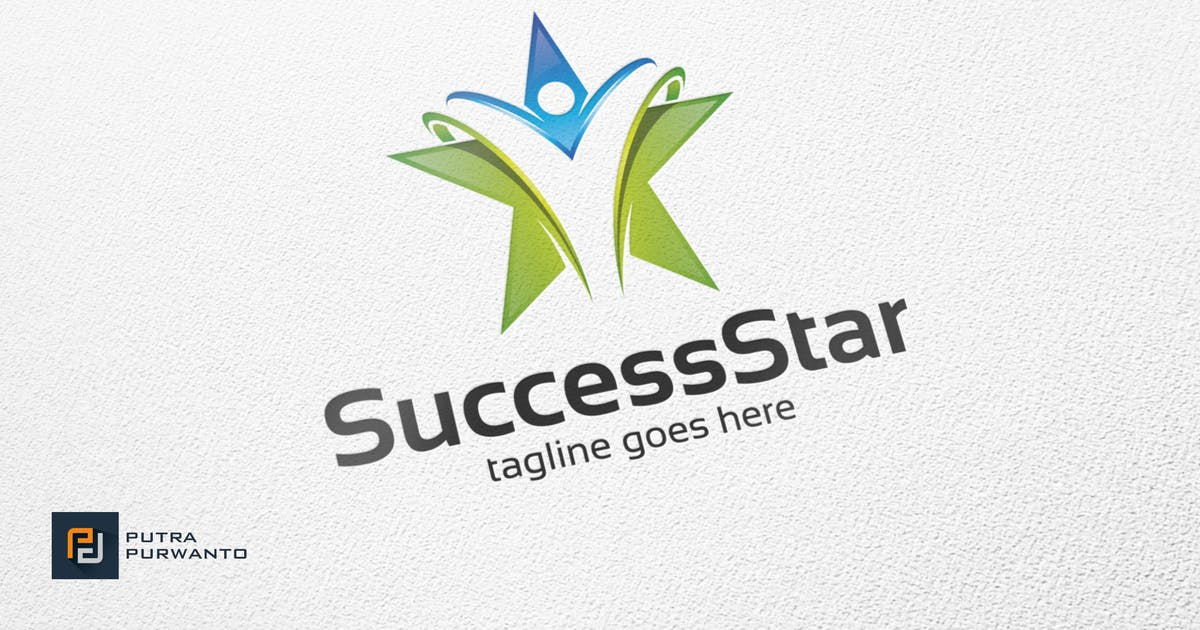 Success Star / Career - Logo Template by putra_purwanto