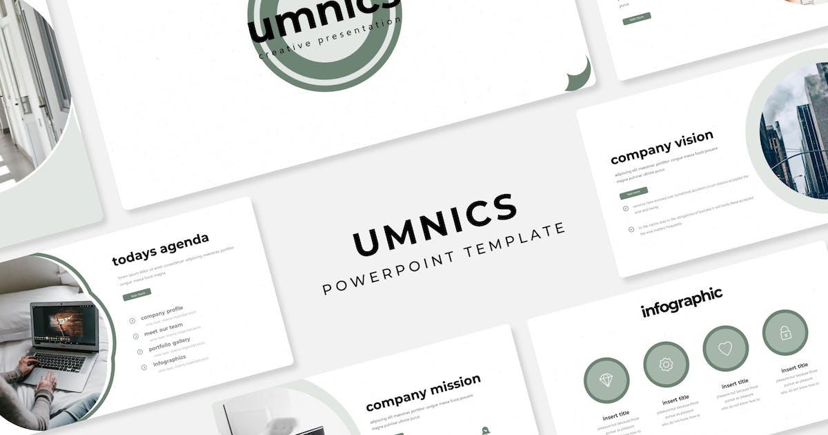 Download Umnics - Power Point Template by IanMikraz