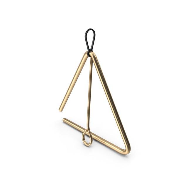 Бронзовый музыкальный треугольник