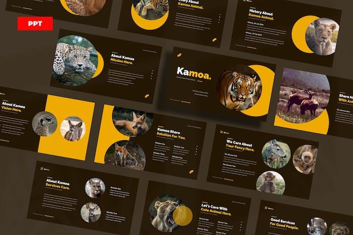 Уход за животными Камоа - PowerPoint UP