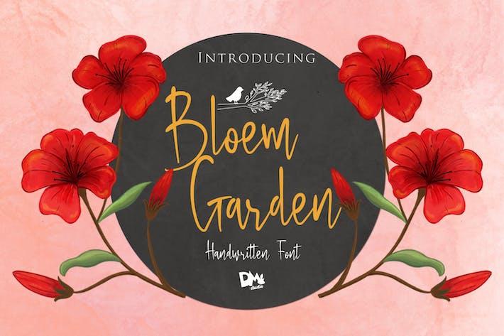 Bloem Garden - Handwritten Font
