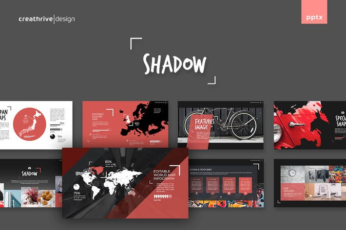 Thumbnail for Shadow PowerPoint