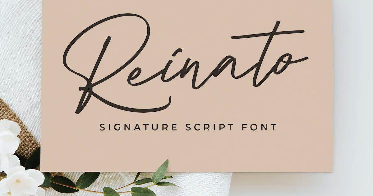 Download Reinato Signature by indotitas
