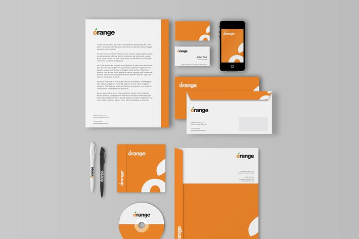 Thumbnail for Corporate Identity / Branding Mockups