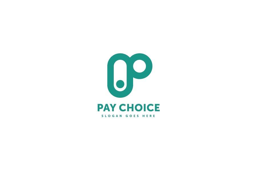 Pay Choice Logo Template