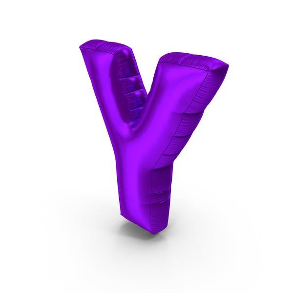 Foil Balloon Letter Y