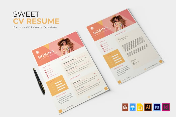 Thumbnail for Sweet | CV & Resume