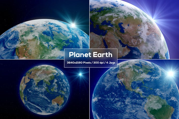 Thumbnail for Earth Backgrounds V2